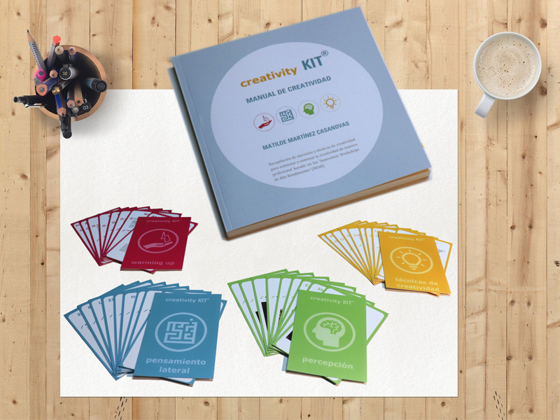 creativity kit, tu instrumento para fomentar la creatividad empresarial